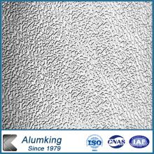 Placa de aluminio en relieve para suelo antideslizante