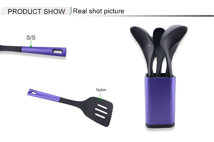 5PCS nylon utensils set