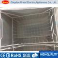 Vitrina de congelador de puertas de vidrio comercial de 2 puertas