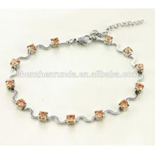 Bracelet élégant bracelet en bijoux en acier inoxydable 2015