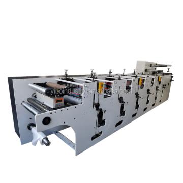 Inexpensive Paper Film Stickers Label Flexographic UV Printing Machine