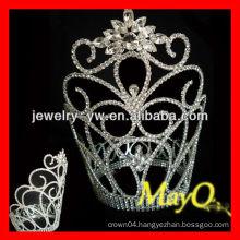 Snowflake Large tall crystal pageant tiara crown