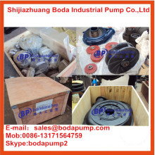 Bomba de lodo de impeledor de goma de alta calidad y buena calidad