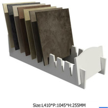 Asd-31 White Tile Display Stand/ Display for Stone Promotion