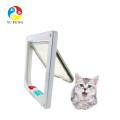 Cat Door 4 Ways Locking Flap Pet Hole for Pet Cats Cat Door 4 Ways Locking Flap Pet Hole for Pet Cats