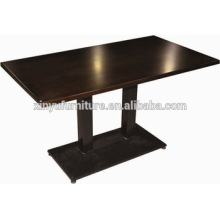 Commerical furniture fast food restaurant table XYN1113