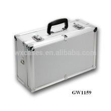 Silberne tragbare Aluminium-chinesische Koffer-Hersteller