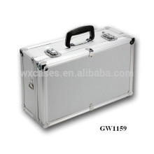 Silver portable aluminum chinese suitcase manufacturer