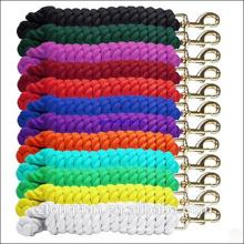 Laisse en plomb colorée de corde de plomb de chien / pe / nylon / coton / cheval