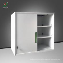 Armário de arquivo de aço de aço do armário de armazenamento da mobília de aço do escritório baixo
