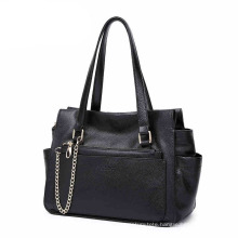 Wholesale Bags Designer Brand Large Women Bag PU Leather Handbags with Chain (ZX10098)