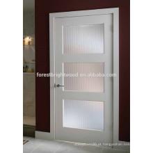 Porta de Shaker de Painel em Vidro com Primário Branco 3