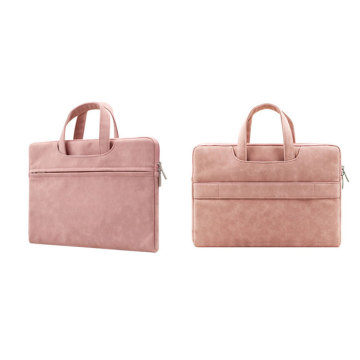 Tote bag executive in pelle con tracolla per ufficio