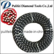 Веревочка Вырезывания провода диаманта увидел для камня гранита мрамора Вырезывания