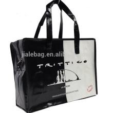 travel zipper pp woven bags sedex factory