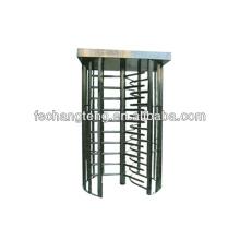 waist height turnstile with 304 stainless steel