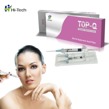 Relleno inyectable de ácido hialurónico 1ml Derm line Lip Cross Linked Dermal Filler