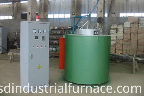 Gas Crucible Aluminum Alloy Melting Furnace