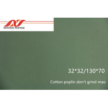 Cotton poplin don't grind mao 32x32/130x70 140gsm 57/58