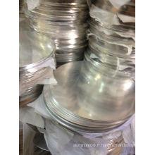 Aluminium Round Plate 1100 pour meubles