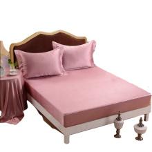 Drap-housse de luxe en soie Mulberry pour très grand lit