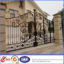 Porta residencial galvanizada quente simples elegante do ferro forjado
