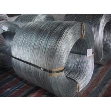 Alambre de acero galvanizado de alto carbono con revestimiento de zinc