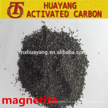 Minério de ferro de magnetite natural