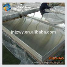 Feuille d'aluminium alibaba 5005 chinoise pour bateau à prix compétitif