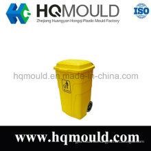Inyección de plástico molde de cubo de basura para exterior