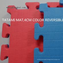 Tapis de tatami, tapis de judo EVA Tatami, utilisé comme tapis de judo, tapis d'aïkido, tapis de tatami