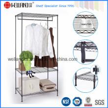 Organizer ajustável do armário do armazenamento do armário do metal com aprovaçã0 de NSF