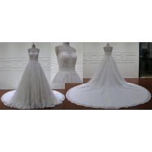 Бальное Платье Собор Поезд Линии Свадебное Платье