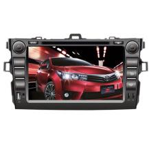 Ajuste de 2DIN coches reproductor de DVD para Toyota Corolla delantero grande USB 2006-2011 con Radio Bluetooth TV estéreo sistema de navegación GPS