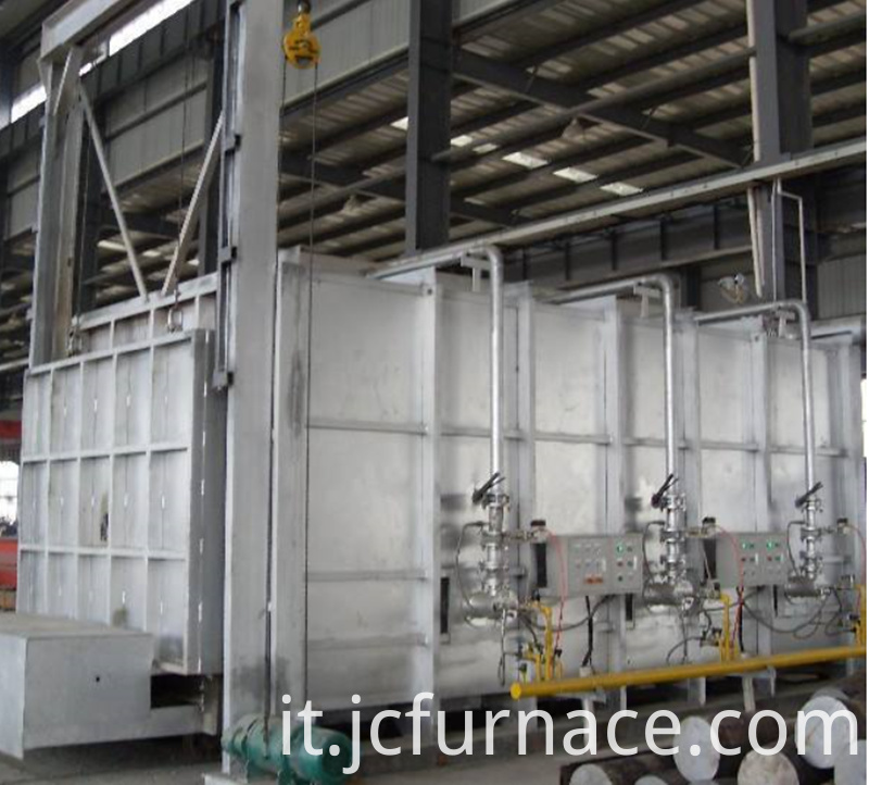 Natural gas annealing furnace
