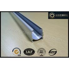 Aluminium Roman Blind Open Head Gleisprofil Pulverbeschichtung Weiß mit Klettverschluss nach Europa Gl3001
