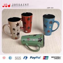 Nueva taza esmaltada de porcelana para uso diario