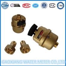 Medidor de água pistão volumétrico de bronze