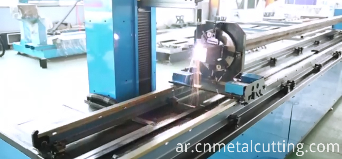 automatic pipe gas cutting machine