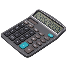 Solar power 12 digits desktop calculator with big button