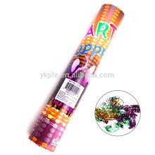 Высокое качество сжатого воздуха конфетти партии Поппер с низкой ценой на продажу