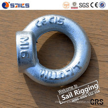 M20 Carbon Steel Drop Forged Galvanized DIN582 Eye Nut