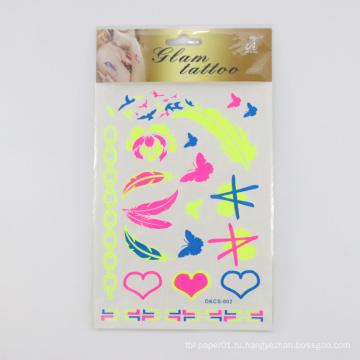 Стикер татуировки изготовленной на заказ собственной личности слипчивый, нетоксический Eco-содружественный стикер татуировки тела