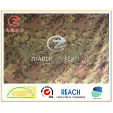 (ZCBP006) 150d Spandex камуфляжная ткань для печати итальянского стиля с ПУ покрытием для военных применений