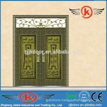 JK-C9048 beautiful painting and nice color antique bronze copper main door