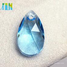 Grânulos quentes da gota da água do cristal de vidro da venda 2014 para ornamento da jóia