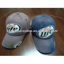 Flaschenöffner Baseball Caps mit Stickerei / Baseball Cap mit Opener