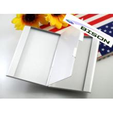 Двухслойный металлический корпус для визитных карточек