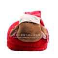 2015 ano novo animal cabra chinelo casa de pelúcia