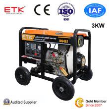 3kw Power Single Phase Electric Start Diesel Generator Set